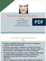 Face recoganization report