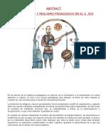 REALISMO PEDAGÓGICO- HISTORIA DE LA PEDAGOGÍA DE LA EDUCACIÓN