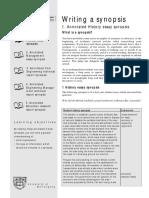 Writing a synopsis.pdf