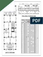 Rcc Detaile of Plinth Beam-model