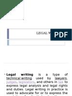 Legal Writing Dec 4