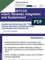 McLean ISO 9001 2015 CD Briefing2014