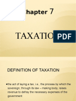 Chapter 7- Taxation