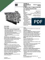 Engine Especifications G3520B