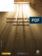 Informe Sobre El Uso de La Prision Preventiva en Las Americas