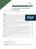 Neuromarketing and Consumer Neuroscience