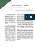 Guerrero - Militarismo, Nacionalismo y Populismo