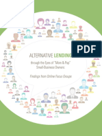 Federal Reserve of Cleveland Alternative Lending Mom and Pop Small Business Owners PDF