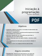 Iniciação à Programação
