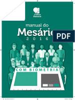 Manual Do Mesario Com Biometria