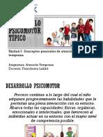 1. Desarrollo Psicomotor Típico