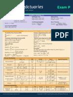 p1 Formula Sheet