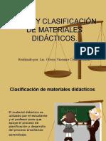 Texto Tipos y Clasificación de Material Didáctico