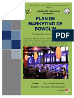 Plan de Marjeting. Bowglin