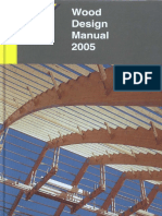 Wood Design Manual, 2005