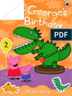 181657687 Peppa Pig George s Birthday Sticker Story All Stickers Lite