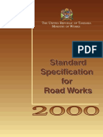 Standard Specifications for Road Works-Series 1000