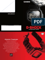 G SHOCK Catalogue