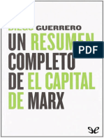Guerrero Diego - Un Resumen Completo de El Capital de Marx
