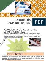 Auditoría Administrativa en Las Organizaciones Parte III
