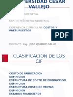 Ppt 3- Costos y Presupuestos 2016-2
