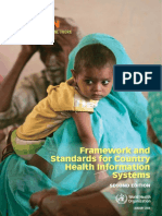WHO_HMN_Framework and Standards for Country HIS 2nd Edition _ 2008