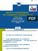 Safety Assessment Cosmetics