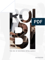 The ROI of Business Intelligence