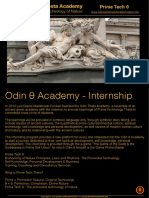 INTERNSHIP Gamification And Self knowledge Odin Theta Academy-Internship