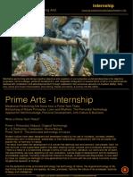 INTERNSHIP Prime Arts Internship