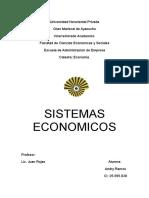 TRABAJO DE ECONOMIA SISTEMAS ECONOMICOS.docx