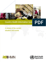 WHO _ Country HIS Health Information Systems - A Review of the Current Situation and Trends 2011