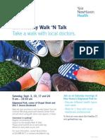 YNHHS Healthy WalknTalk Event Edgewood
