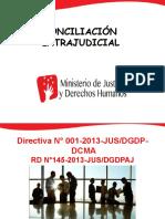 Consiliacion Extrajudicial- Materias