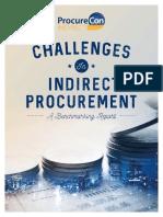 Indirect Procurement Challenges 2016