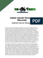 19374759 Garcia Marquez Isabel Viendo Llover en Macondo
