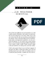 Cold Weather eSurvival