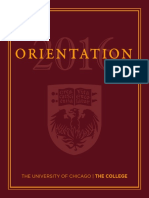 University of Chicago O-Book 2016