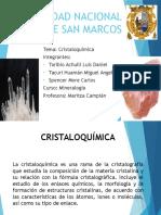 Cristaloquimica Mine.3