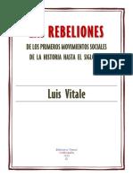 Las Rebeliones Sociales a Lo Largo de La Historia Hasta El s XVI Vitale Luis