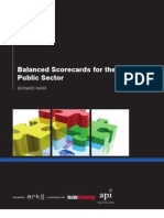 Balanced Scorecard Public Sector