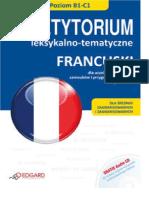 Francuski Repetytorium leksykalno tematyczne + CD Poziom B1-C1 Andrzej Pochodaj