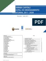 Plab Municipal de Ordenamiento Territorial