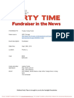 Fundraiser for Trump Victory Fund