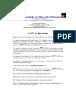 The Faith of Avraham in Spanish