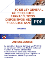 DIGEMID Opinion Re Dictamen Ley Gral PF DM y PS (2)