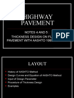 3. Thickness Design on Flexible Pavement – AASHTO 1993 Method.ppt