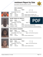 Peoria County Jail Booking Sheet for Sept. 23, 2016