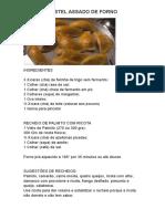 Pastel Assado de Forno