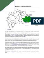 La Región Este de La República Dominicana